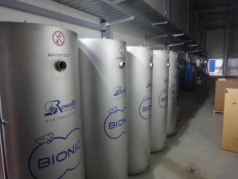 Het waterrecycle systeem